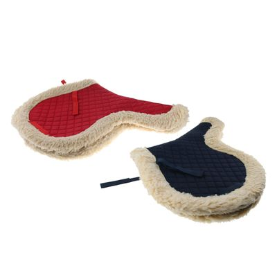 English Saddle Pad Jumping Horse Pony Western Seat Blanket Outdoor Sports Accessories