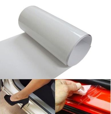 Universal Invisible Car Door Sill Edge Guard Paint Protection Scratch Film Sheet Sealing Trim Molding Car Styling Accessories