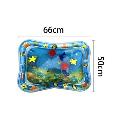 2019 Hot Sales Baby Kids Water Play Mat Inflatable Infant Tummy Time Playmat Toddler for Baby Fun Activity Play Center Dropship