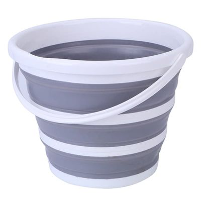 Foldable Bucket Car Wash Outdoor Fishing Round Bathroom Kitchen Bucket