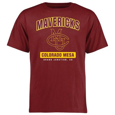 CMU Mavericks Big & Tall Campus Icon T-Shirt - Scarlet
