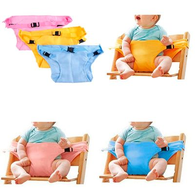 1pc Baby Dining Chair Safety Belt Portable Seat Lunch Chair Seat Stretch Wrap Feeding Chair Harness baby Booster Seat