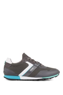 HUGO BOSS - Hybrid Sneakers With Bamboo Charcoal Lining And Lightweight Sole