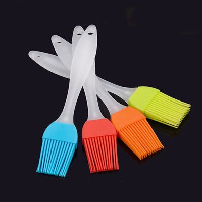 2Pcs Portable Silicone BBQ Cake Accessories Kitchen Gadgets Oil Brushes Non-toxic Heat-resistant Pastry Brush