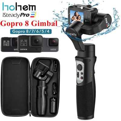 Hohem iSteady Pro 3 3-Axis Gimbal Stabilizer for GoPro 8 Action Camera Handheld Gimbal for Gopro Hero 8,7,6,5,4,3, Osmo Action