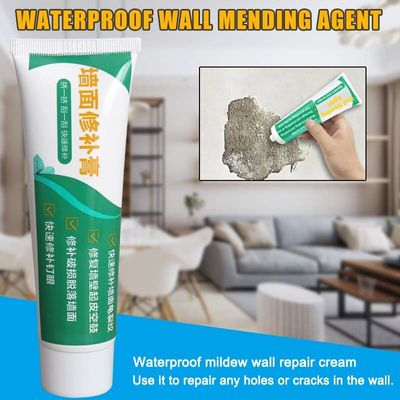 Newly 1/2/3pcs Wall Mending Agent Repair Cream Crack Repairing Quick Drying for Home Kitchen XSD88