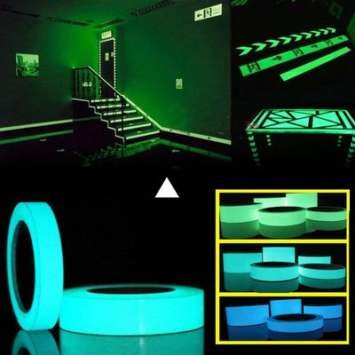 10M*10mm Luminous Tape Self-adhesive Glow In Dark Sticker For Exit Sign Walls Safety Stage Night Vision Home Decoration Tape
