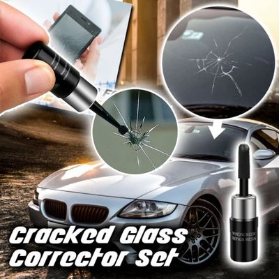 Automotive Glass Nano Repair Fluid Car Window Glass Crack Chip Repair Tool Kit Windscreen Glass Scratch Crack nano-repair fluid
