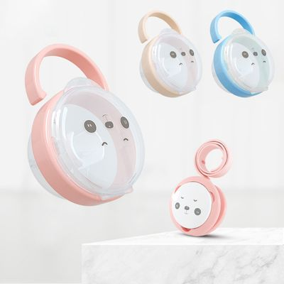 Portable Baby Pacifier Nipple Cradle Case Holder Cartoon Kids Travel Storage Box Soother Container Holder Pacifier Dummy Box
