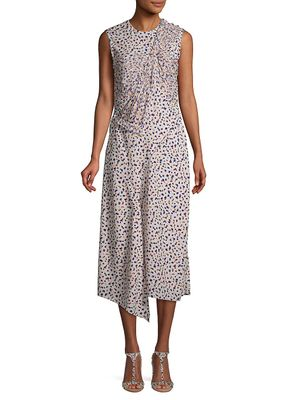Jason Wu Collection Floral-Print Sleeveless Shift Dress