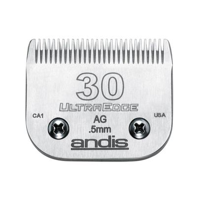 Professional High Quality Dog Grooming Ultra Edge Clipper Blades Choose Size (# 30 = .5mm)
