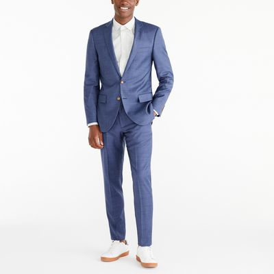 J.Crew Factory Slim Thompson Suit Jacket In Worsted Wool