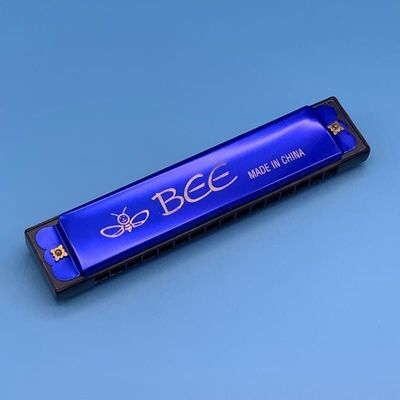 16 Holes Key of C Blues Harmonica Musical Instrument Educational Toy with free shipping