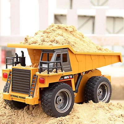 6-Channel RC Construction Vehicle Dump Truck Dumper Model RC Trucks Rock Crawler Remote Control Toy Cars On The Radio Controlled