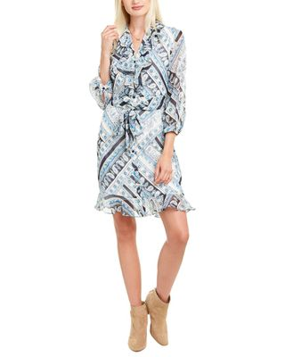 KARL LAGERFELD Ruffle Shirtdress