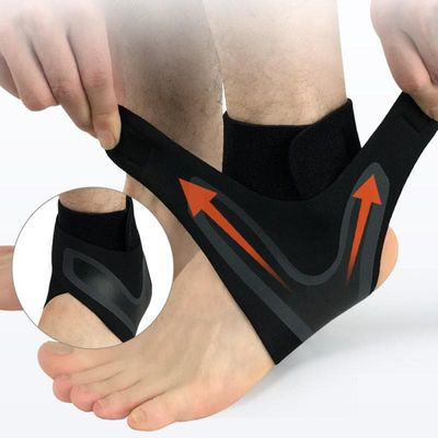 Flexibility Ankle Support Elastic Ankle Sleeve Brace Guard Foot Support sports Fitness Running Ankle Support Sock For Men Women