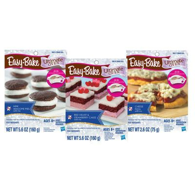 Easy Bake Refill: Includes Pizza, Cake, and Whoopie Pie Mix