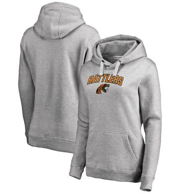 Florida A&M Rattlers Women's Proud Mascot Pullover Hoodie - Ash -