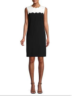 Escada Dewissa Sleeveless Shift Dress