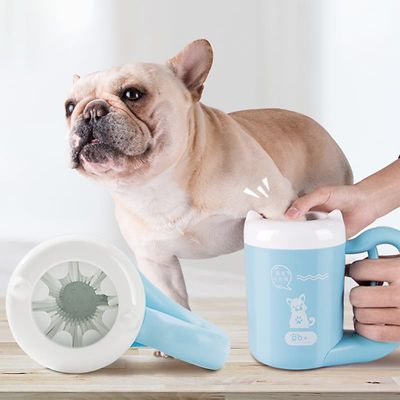 Pet Cat Dog Foot Clean Cup Cleaning Tool Silicone Washing Brush Paw Washer French Bulldog Pug Supplies Pet Accessories For Dogs