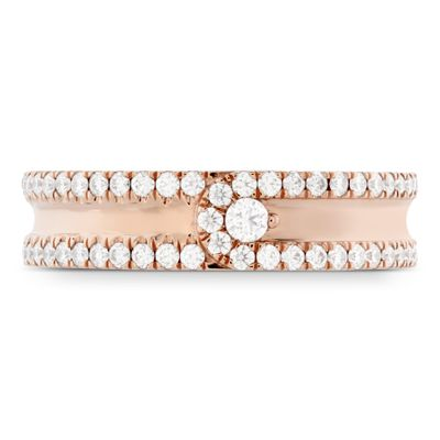Hearts On Fire Coupled Encompass Diamond Intensive Band 5mm .44-.52ctw