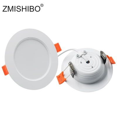 ZMISHIBO LED Downlights Ceiling Recessed Spot Lamp 3000K/4000K/6000K 3W 5W 7W 9W 12W 15W 18W 220V Living Room Kitchen Lamp