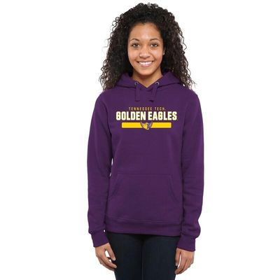 Tennessee Tech Golden Eagles Women's Team Strong Pullover Hoodie - Purple