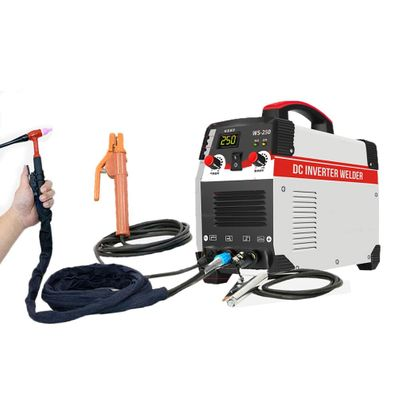 Tig Welder 250A Arc TIG 2 IN 1 Argon  Control Welding Machine Stainless Steel Carbon Steel IGBT Technology