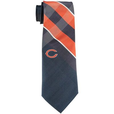 Chicago Bears Woven Poly Grid Tie