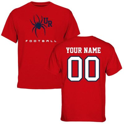 Richmond Spiders Personalized Football T-Shirt - Red