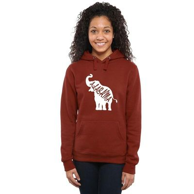 Alabama Crimson Tide Women's DNA Pullover Hoodie - Crimson
