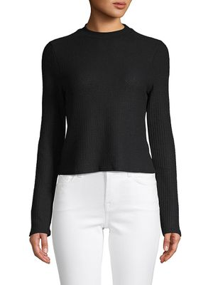Project Social T Long-Sleeve Ribbed Top