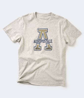 Aeropostale Large A Applique Graphic Tee
