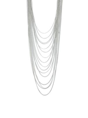 BCBGeneration Multi-Tiered Chainlink Necklace