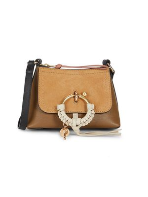 See by Chloe Mini Joan Leather & Suede Crossbody Bag