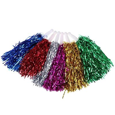 1PC Cheer Dance Sport Competition Cheerleading Pom Poms Flower Ball For For Football Basketball Match Pompon Children Use