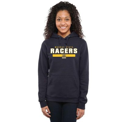 Murray St. Racers Women's Team Strong Pullover Hoodie - Navy