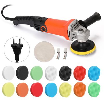 1580W 220V Electric Polisher Machine Adjustable Speed Car Polisher Sanding Waxing Grinding Machine Automobile Furniture Tool