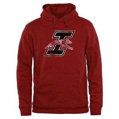 Indianapolis Greyhounds Classic Primary Pullover Hoodie - Crimson