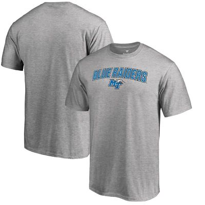 Middle Tennessee States Blue Raiders Fanatics Branded Proud Mascot T-Shirt - Heather Gray