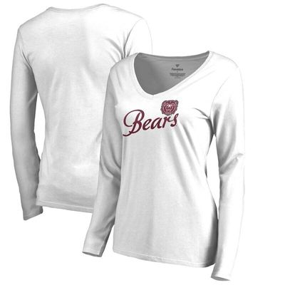 Missouri State University Bears Women's Dora Long Sleeve T-Shirt - White