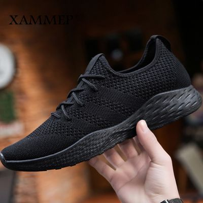 Men Casual Shoes Men Sneakers Brand Men Shoes Loafers Slip On Male Mesh Flats Big Size Breathable Spring Autumn Winter Xammep