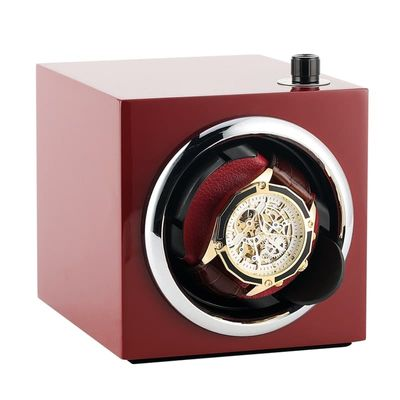 Watch Winder Self Rotating Adjustable Speed Electric Silent Motor Watch Holder Shaker Electric Winder Box With Automatic Winding