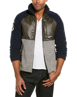 Superdry Mointain Sherpa Black Jacket