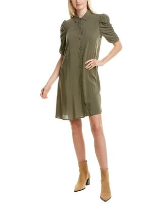MSK Ruched Shirtdress