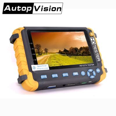 NEW 5 inch TFT LCD  HD 5MP TVI AHD CVI CVBS Analog Security Camera Tester Monitor in One CCTV Tester VGA HDMI Input IV8W