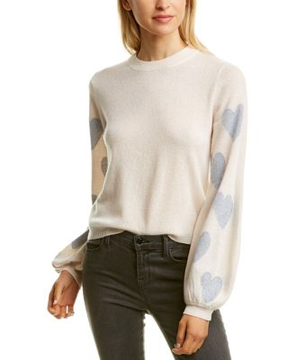 Scott & Scott London Heart Arm Cashmere Sweater