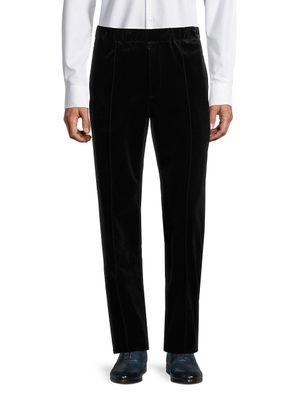 Helmut Lang Pleated Stretch-Cotton Pants