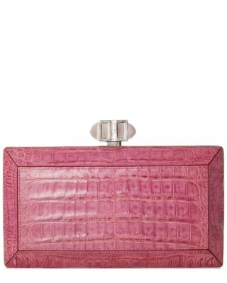 Judith Leiber Coffered Rectangle Clutch
