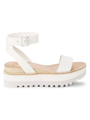 Dolce Vita Mila Leather Ankle-Strap Sandals